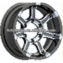 15 pulgadas hermosas 6 agujeros 139.7mm réplica de la rueda de coche deportivo