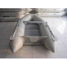 Petit plancher de contreplaqué de bateau de pêche de bateau gonflable