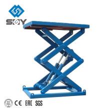Estructura duradera Proyector motorizado Plataforma de tijera