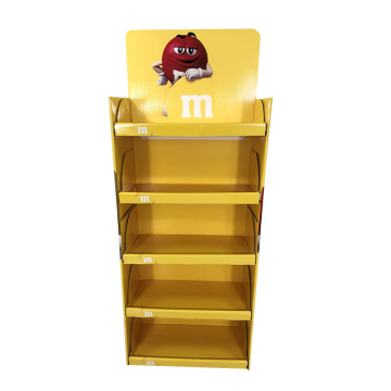 APEX Best Selling Yellow Cardboard Display Snack