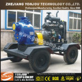 Diesel Water Cooled Self Priming Irrigation Water Pump on Wheels