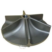 Turbine de pompe de bâti de précision d'acier allié de la Chine