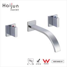 Haijun 2017 Mordern cUpc Wall Mount Banheiro torneira de latão de água salva