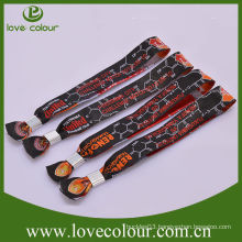 High quality hot sell printed wristband for church supplies