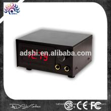 Schwarze und rote LED digitale Dual Tattoo Netzteil