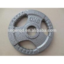 Placa de peso de hierro fundido de 2 pulgadas 5kg 20kg