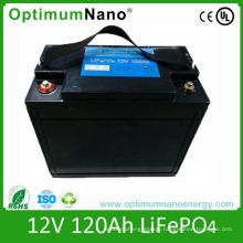 Deep Cycle LiFePO4 12V 120ah Battery for Camper Van