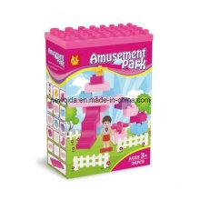 ABS Plastic Amusement Park Building Puzzle for Kids