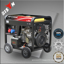 BISON CHINA TaiZhou Electric Start Portable 10kva KIPOR Diesel Generator