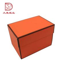 Manufatura profissional mais recente popular caixa de presente de espessura