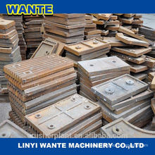 High Manganese Steel Crusher Parts Jaw Plate From China Top 3 Brands Manufacture