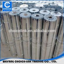 Self adhesive polymer modified waterproof asphalt membrane