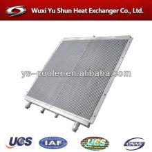 Cargador de ruedas depósito de agua con radiador para cargador / intercambiador de calor en ventilador de aire de aluminio