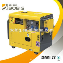 Hot sale air cooled diesel generator set 5.5KW three phase or single phase