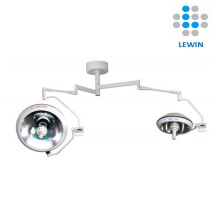 Doppelkuppel-Halogen-OP-Lampe mit UPS-Kamera