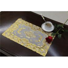 Размер 30*46см ПВХ кружева золото теплоизолирующая подставка Водонепроницаемый популярные в кофе/дома