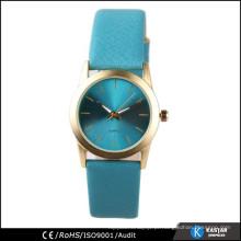 Relógio de pulso relógio de moda caso de ouro
