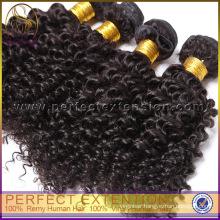 5a Blond Double Weft Afro Virgin Kinky Curly Mongolian Hair Weaving