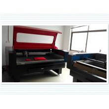 Precio razonable máquina troqueladora láser para tela / tela / cuero