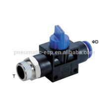 Las válvulas de mano de plástico empujan en HVSF neumático