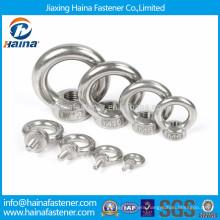 DIN582 SS304 stainless steel eye nut,eye bolt in stock M6-M16