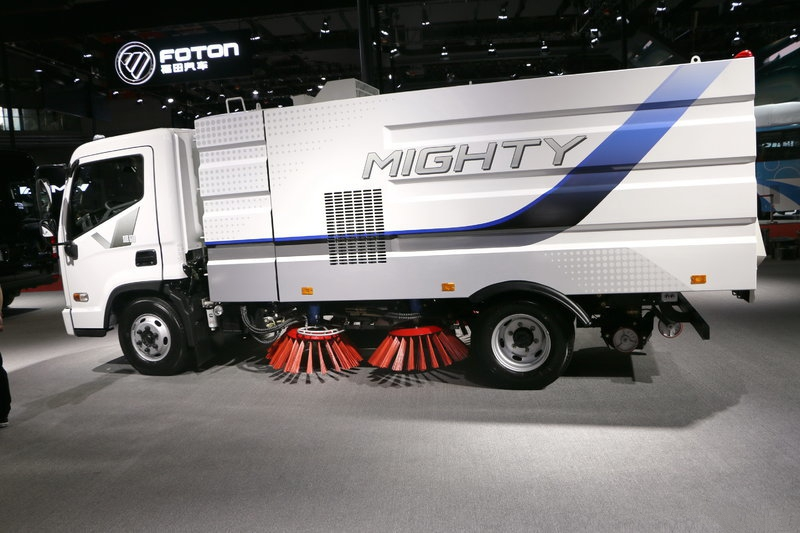 Camion balayeuse HYUNDRI MIGHTY 129HP 4x2