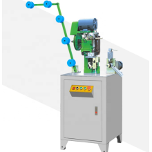Machine d'arrêt inférieur à glissière automatique (type de fil plat)