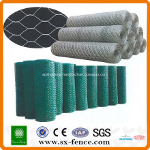 ISO9001:2008 Real factory supply Galvanized cheap hexagonal wire mesh