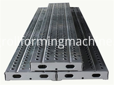 Galvanized Steel Scaffolding Walk Board Machines