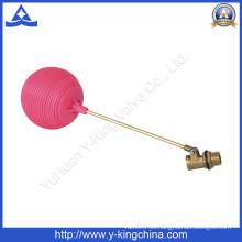 Tubo macho de la válvula de flotador de latón con rosca (YD-3015)
