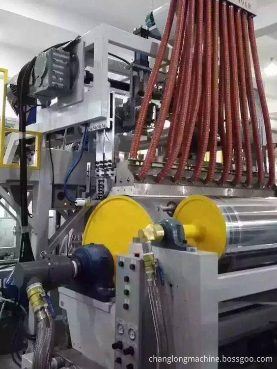 stretch film machine