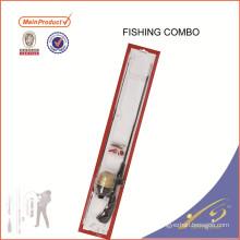 Carrete sólido de la barra de la pesca de Rod de la calidad FDSF425 combinado