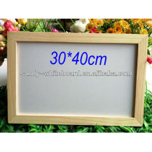 OEM magnetic whiteboard with wooden frame dry erase writing board