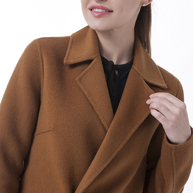 Chocolate Cashmere Winter Coat