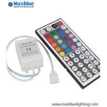 Controlador RGB con control remoto IR de 44 teclas
