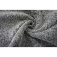 Double Face Black & White Wool Fabric