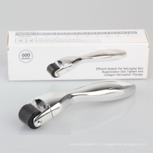Body Dermaroller 600 Micro Needle Derma Skin Roller 0.5mm Therapy