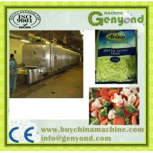 Máquina de congelação rápida de frutas quivis congeladas