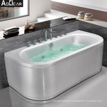 Aokeliya bubble whirlpool massage bathtub jetted bath tub for relaxing
