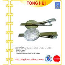 Günstige Metall-Krawatten-Clips mit benutzerdefinierten gravierten Logo