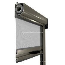 Противопожарный алюминиевый роликовый экран для насекомых