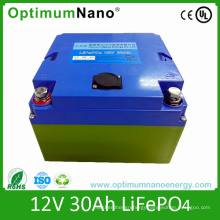 Lithium Ion 12V30ah LiFePO4 Battery for Golf Cart Battery