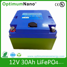 Батареи optimumnano lifepo4 для 12В батареи 30ah батареи ИБП