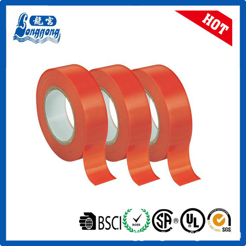 Orange color pvc electrical insulation tape
