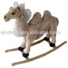 Camello de peluche de peluche