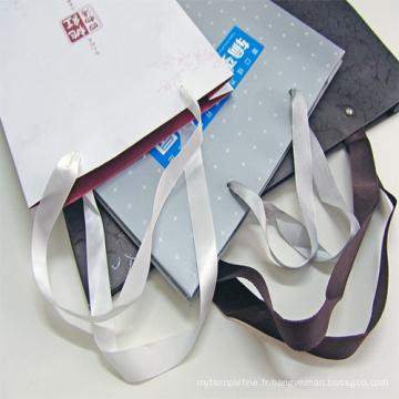 Sacs de transport en papier imprimés par coutume de luxe
