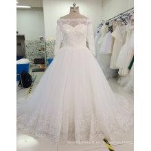 Aoliweiya a estrenar de la muestra verdadera de la princesa vestido de boda nupcial