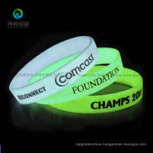 Fluorescent Promotional Silicone Band