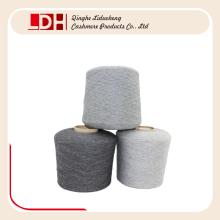 Hilado de pelo de conejo de lana mezclado para tejer a mano y Soft Warm Mongolia Cashmere