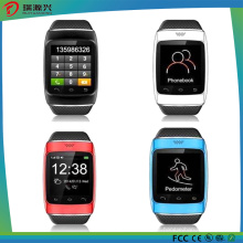 Telefone esperto do relógio do punho de S12 Topsale Bluetooth com podómetro / gravação